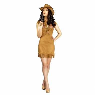 Feest cowboy verkleedoutfit dames