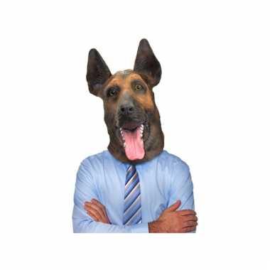 Feest dierenmasker herdershond