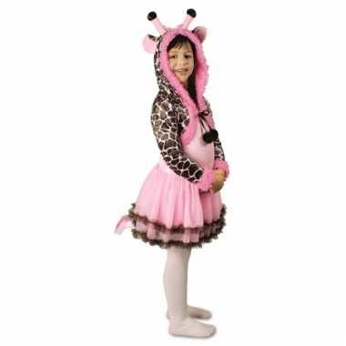 Feest giraffe verkleedoutfit voor meisjes
