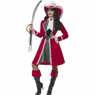 Feest kapitein verkleedoutfit voor dames