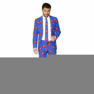 Feest kostuum superman print