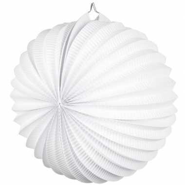 Feest lampionnen wit 22 cm