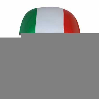 Feest masker in italiaanse kleuren