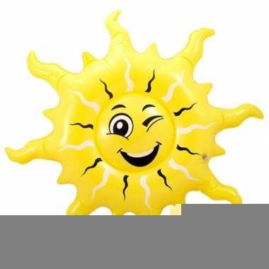 Feest mega opblaas zon