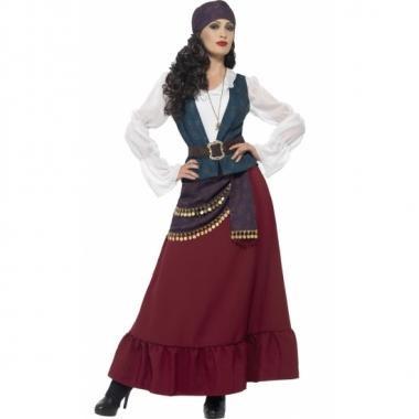 Feest piraat verkleedoutfit voor dames