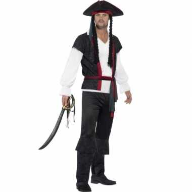 Feest piraat verkleedoutfit voor heren