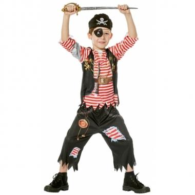 Feest piraten kleding voor jongens