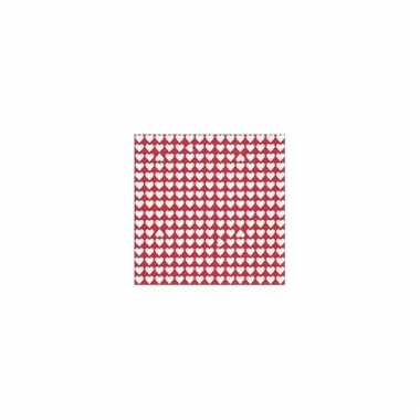Feest servetten thema valentijn 20x