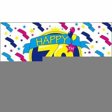 Feest vlag happy birthday 70 jaar