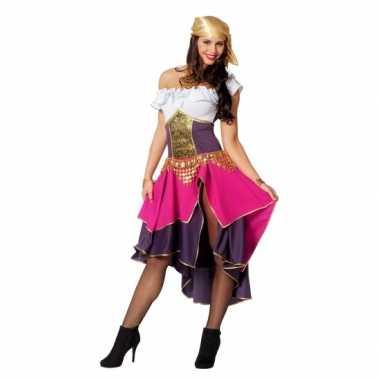 Feest zigeunerin verkleedoutfit voor dames