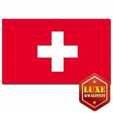 Feestartikelen vlag zwitserland