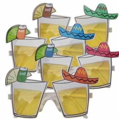 Feestbril mexicaanse tequila