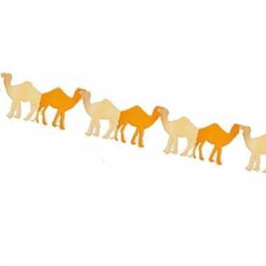 Feestversiering slinger kamelen 3 m