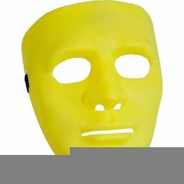 Fel gele maskers