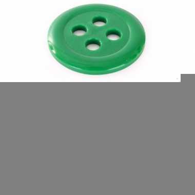 Fel groene knoop