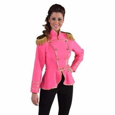 Fel roze verkleedjas voor dames