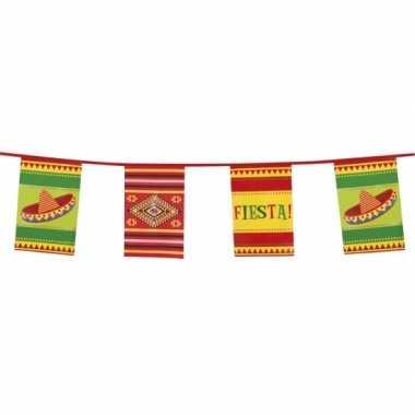 Fiesta vlaggenlijn mexicaans