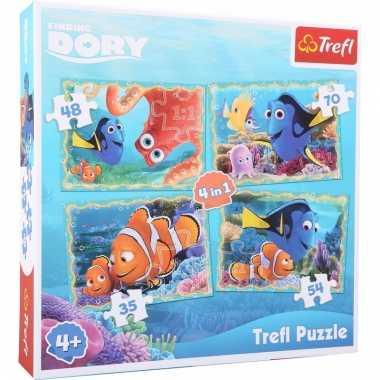 Finding dory puzzels 4 stuks