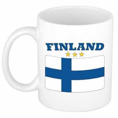 Finse vlag theebeker 300 ml