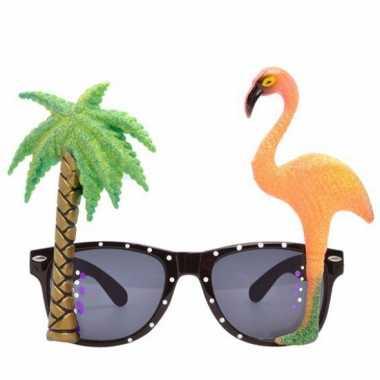 Flamingo brillen tropisch thema feest
