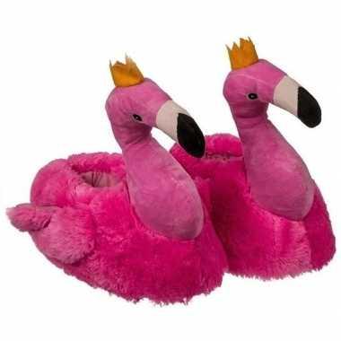 Flamingo pantoffels voor kinderen