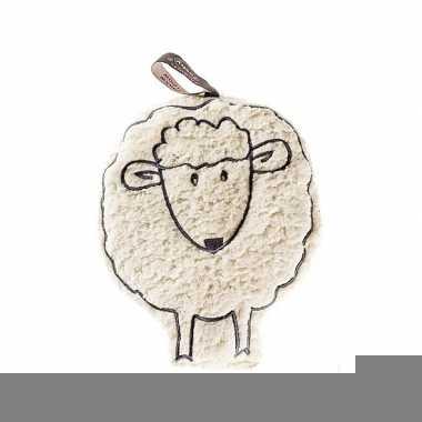 Fleece schaap magnetronknuffel