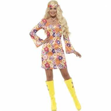 Flower power hippie dames sixties kostuum