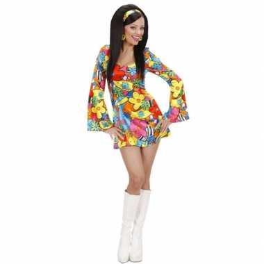 Flower power jurkje voor dames