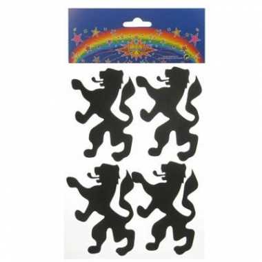 Foam stickers leeuw