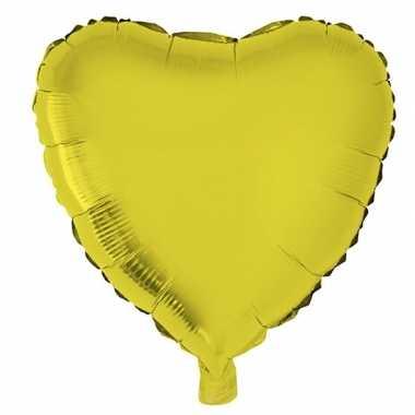 Folie ballon hart goud 52 cm