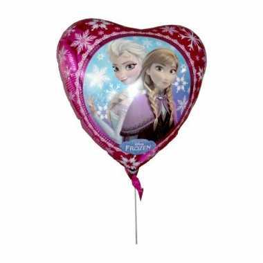 Folie hart ballonnen van disney frozen