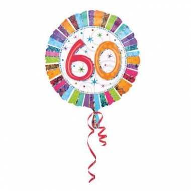 Folieballon met helium 60