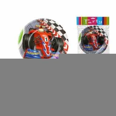 Formule 1 bordjes 6 stuks