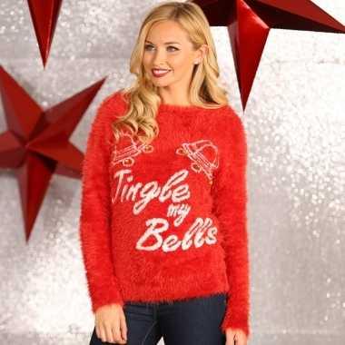 Foute kerstprint truien tingle my bells