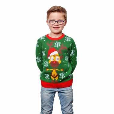 Foute kinder kersttruien met rendier