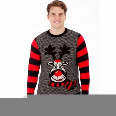Foute print heren truien rudy reindeer