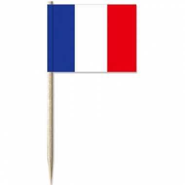 Frankrijk decoratie prikkers 500 st