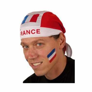Frankrijk hoofddoek met vlag
