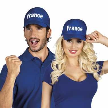 Franse blauwe petjes