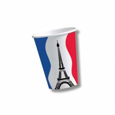 Franse wegwerpbekers 10 st