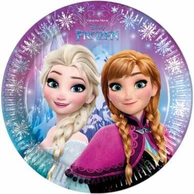 Frozen bordjes 23 cm