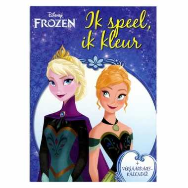 Frozen kleurboek met kalender
