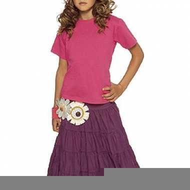 Fuchsia roze tshirts voor kinderen trend