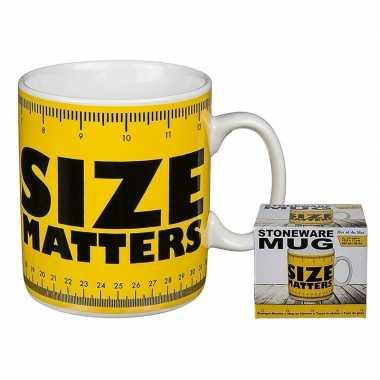 Fun koffiemok size matters 350 ml