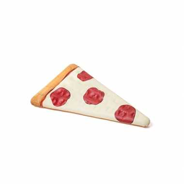 Fun pizzapunt opblaasbed