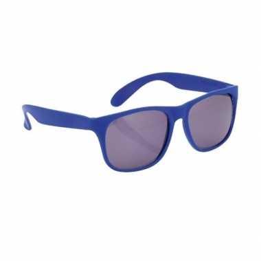 Fun reclame brillen in het blauw