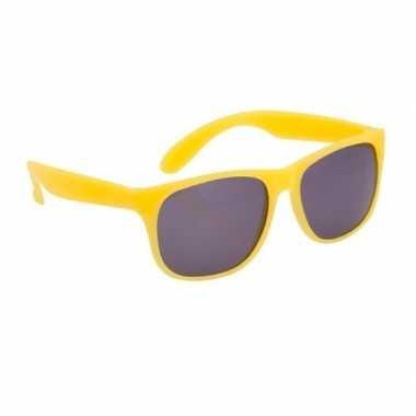 Fun reclame brillen in het geel