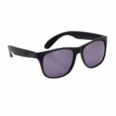 Fun reclame brillen in het zwart