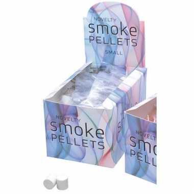 Fun rook bommetjes wit
