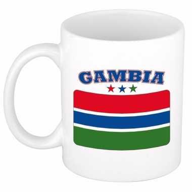 Gambiaanse vlag theebeker 300 ml
